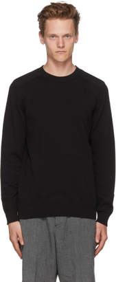 A.P.C. Black Knit Johnny Sweater