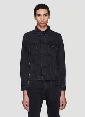 Calvin Klein Est 1978 Trucker Denim Jacket in Black