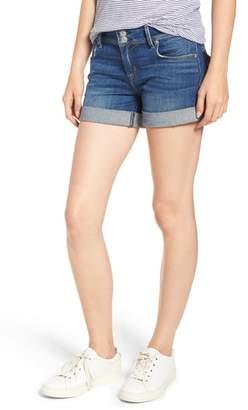 Hudson Ramona Cuffed Denim Shorts