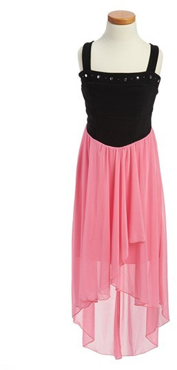 Roxette High/Low Dress (Big Girls)