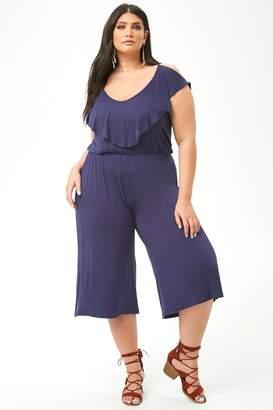 d985d88e915c Forever 21 Blue Plus Size Trousers - ShopStyle Canada