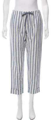 Rebecca Minkoff Striped Mid-Rise Pants w/ Tags