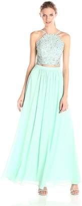 Decode 1.8 Women's Two Piece Embellished Corset Dress