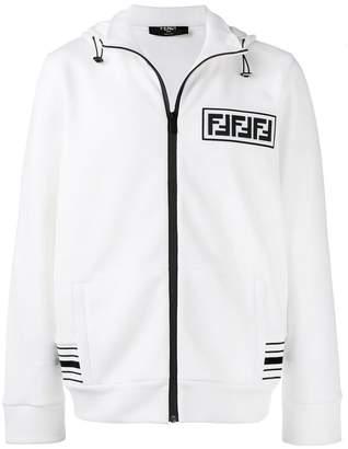 Fendi hooded logo sweater