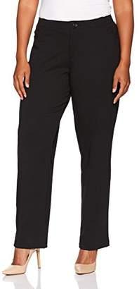 Lee Indigo Women's Plus Size Comfort Collection Knit L Pocket Pant