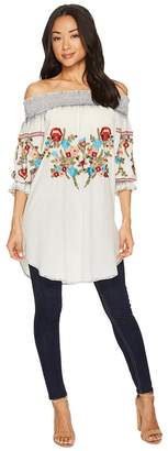 Scully Augustine Embroidered Tunic Women's Clothing