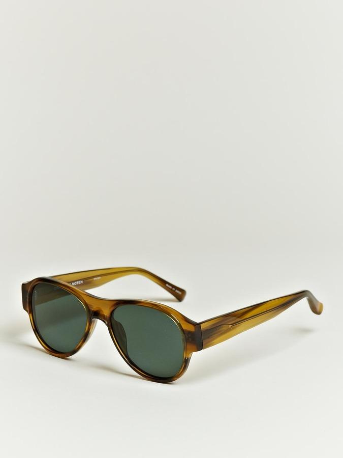 Linda Farrow X Dries Van Noten Women's Oversized Horn Sunglasses