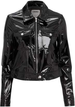 L'Agence Lex Patent Leather Jacket