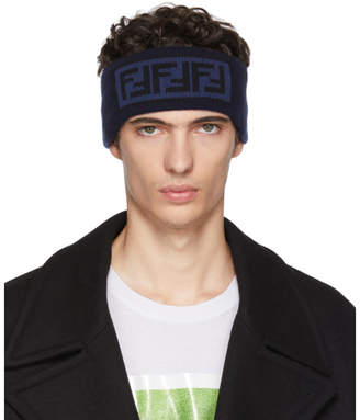 Fendi Blue Forever Headband