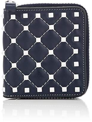 Valentino Women's Rockstud Spike Leather French Wallet