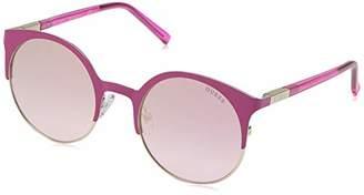 GUESS Women's Gu3036 GU3036 Round Sunglasses