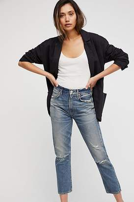 Citizens of Humanity Dree Crop High-Rise Slim Jeans