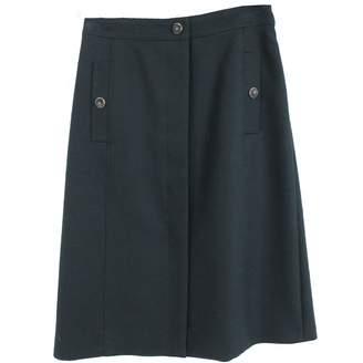 Vanessa Seward Green Wool Skirts