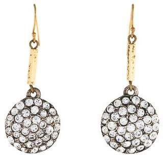 Lulu Frost Pavé Crystal Drop Earrings