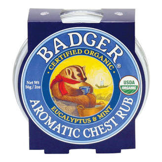 Badger Aromatic Chest Rub Balm