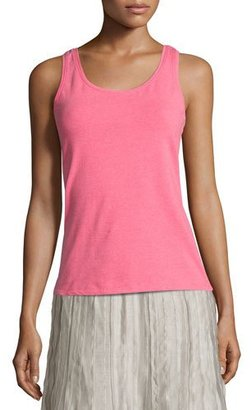 NIC+ZOE Perfect Scoop-Neck Tank, Pink $48 thestylecure.com
