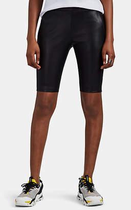 bb512053ed VIS Ā VIS Women's Stretch-Leather Biker Shorts - Black