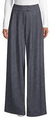 Emporio Armani Wide-Legged Trousers