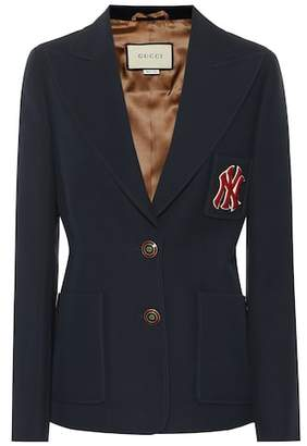 Gucci NY Yankees wool and silk blazer