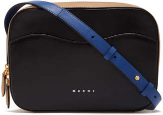 Marni Square Crossbody Leather Bag
