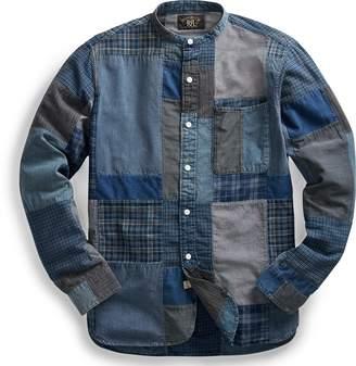 Ralph Lauren Indigo Patchwork Shirt