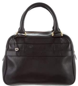 Delvaux Leather Satchel