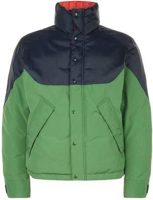 Burberry Colour Block Reversible Down Jacket