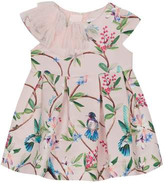 Next Girls baker by Ted Baker Baby Girls Border Printed Dress