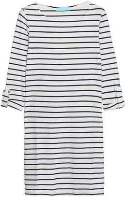 Melissa Odabash Maddie Striped Cloque-knit Coverup