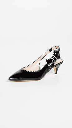 Kate Spade Ollie Slingback Pumps with Kitten Heel