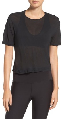Women's Alo Entwine Crop Tee $64 thestylecure.com