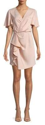 C/Meo CMEO COLLECTIVE Exhibit No Less Ruffle Short Sleeve Dress