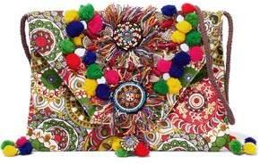 Antik Batik Embellished Printed Cotton Shoulder Bag
