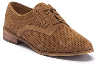 a78de386157 Susina Eloise Perforated Suede Derby