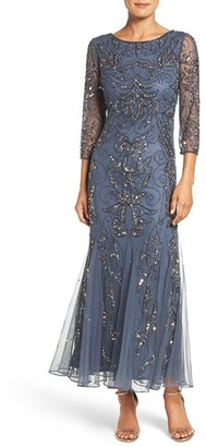 Women's Pisarro Nights Embellished Mesh Gown $218 thestylecure.com