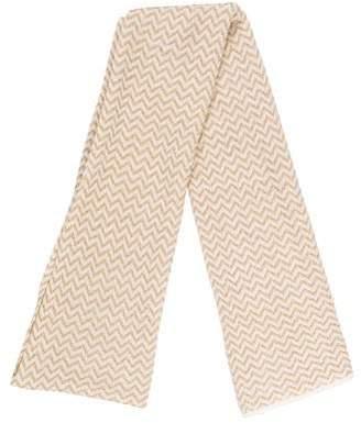 Marc Jacobs Metallic Knit Scarf