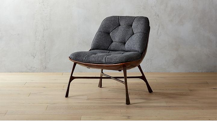 CB2Bordeaux Chair