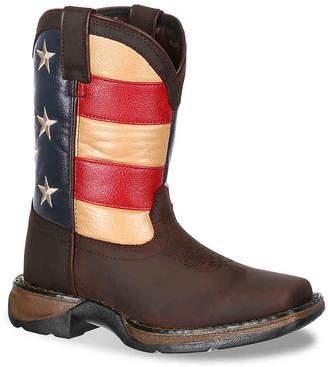 Durango Lil Rebel Toddler & Youth Cowboy Boot - Boy's