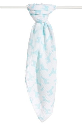 Nordstrom Baby Cotton Swaddle Blanket $15 thestylecure.com