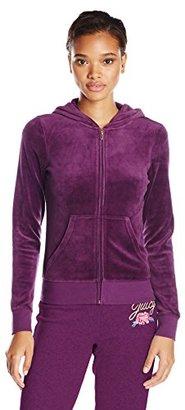 Juicy Couture Black Label Women's Logo Jc Laurel Vlr Orig Jacket $178 thestylecure.com