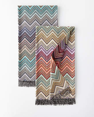 Missoni Home Wool-Blend Zigzag Throw
