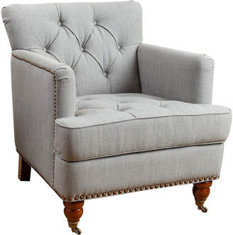 Abbyson Living Tafton Linen Club Chair