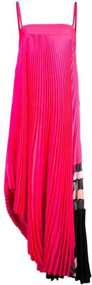 Milly midi pleated dress