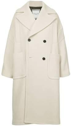 Wooyoungmi classic oversized lapelled coat