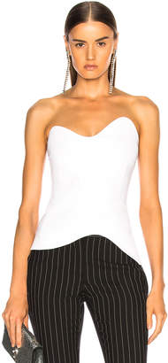 Cushnie et Ochs Strapless Fitted Top