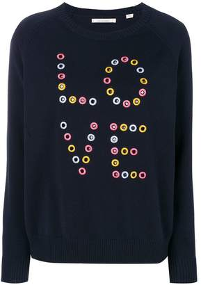 Parker Chinti & cut-out love sweatshirt