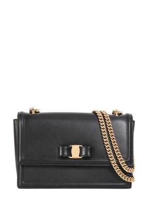 at Italist · Salvatore Ferragamo Vara Bow Flap Bag dcae218fb5