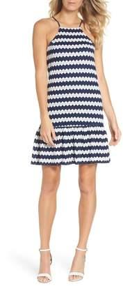 Trina Turk trina Zigzag Halter Shift Dress