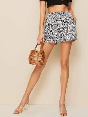 Shein Leopard Print Shorts