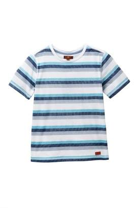 7 For All Mankind Crew Neck Tee (Big Boys)